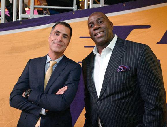 Lakers Owner Jeanie Buss Has '100 Percent Confidence in Rob Pelinka'