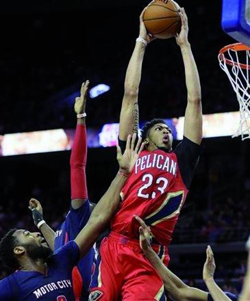 Davis scores team-record 59 points in Pelicans win | Jordan