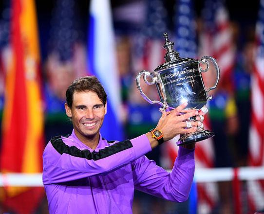 Nadal takes five-set US Open thriller for 19th Slam title
