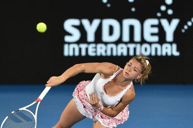 Barty to play Kerber in Sydney final