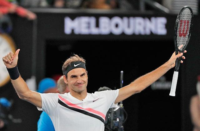 Australian Open: Roger Federer Beats Tomas Berdych To Reach Semi-Finals